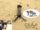 Рукоятка переноса огня CAA Tactical BPP с сошками 5