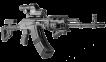 Рукоятка FAB Defense PTK (угловая с контейнером) 0
