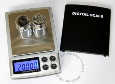Весы электронные для дроби (от 0.01 до 200 грамм)