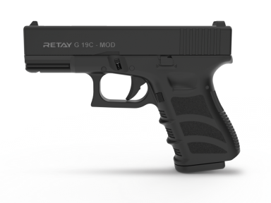 Пистолет стартовый Retay G 19C калибр 9мм