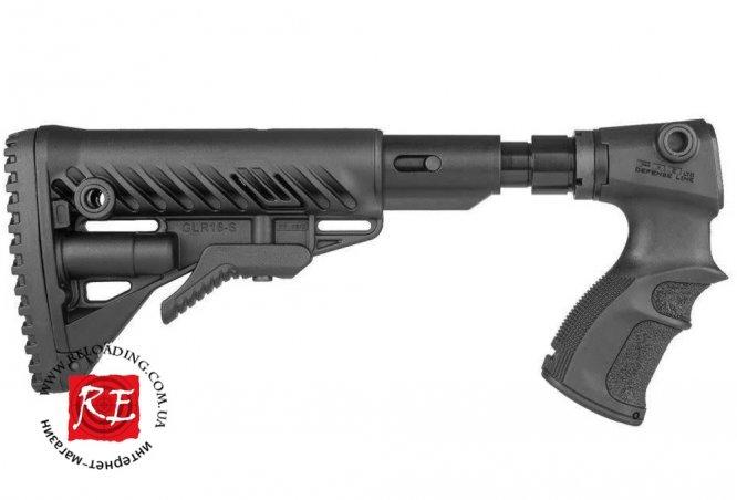 Приклад FAB Defense для Remington 870 (с компенсатором отдачи)