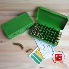 Коробка MTM для патронов калибра 9 мм (на 50 патронов)