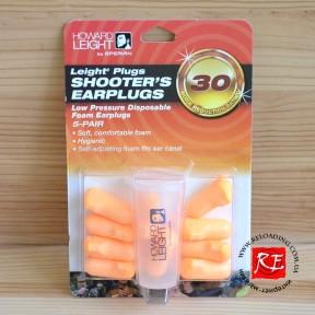 Беруши для стрельбы Howard Shooters Earplugs (5 пар + футляр)