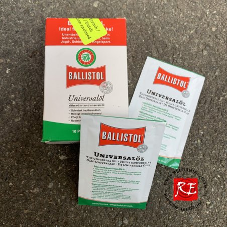 Салфетки для чистки оружия Ballistol (10 шт)