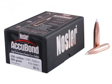 Пуля Nosler AccuBond калибр .30 (50 шт)