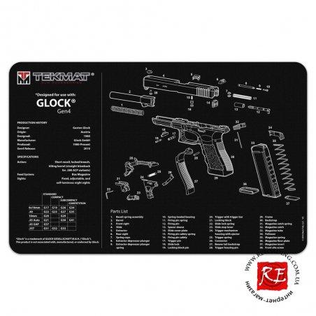 Коврик TekMat Glock Gen. 4 (TEK-17-GLOCK-G4)