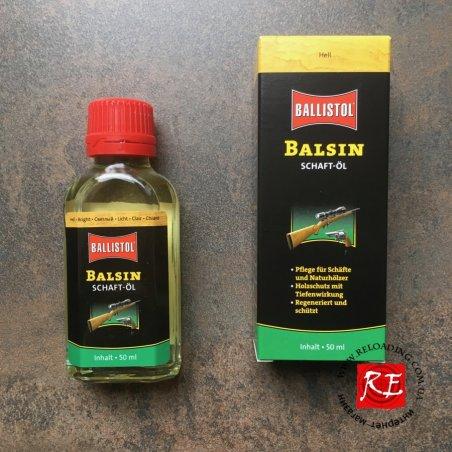 Масло для обработки дерева Balsin Schaftol (светлое)