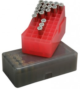 Коробка MTM на 50 патронов (.357, .38 ACP)