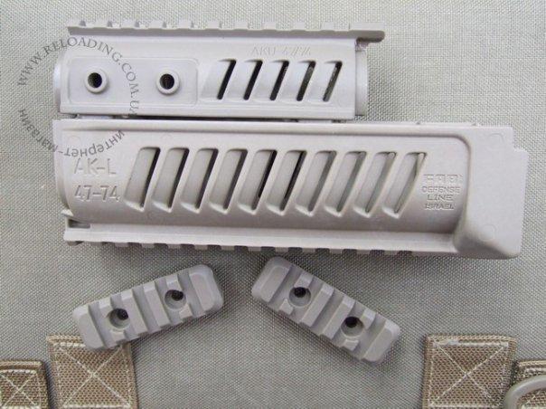 Цевье и накладка на газовую трубку FAB Defense для АК (Tan)