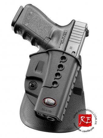 Кобура Fobus GL-2 ND для Glock 17/19 (поворотная)