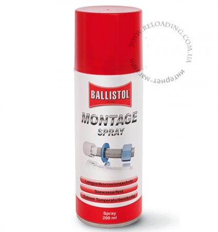 Смазка Ballistol Montage Spray для защиты от коррозии