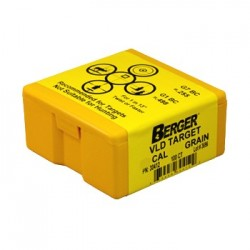 Пуля Berger Target Match Grade VLD ( калибр .30, 11.99 г / 185 гр)