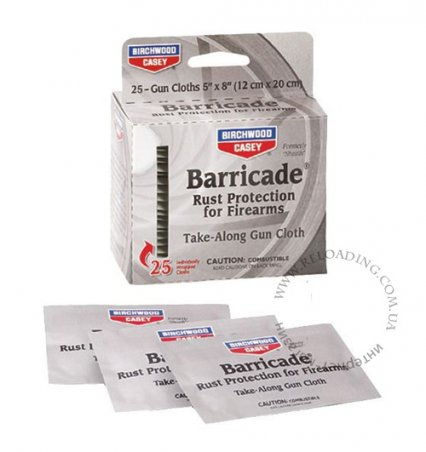 Салфетки для защиты от коррозии BIRCHWOOD CASEY Barricade Rust (1 штука)