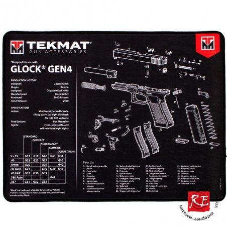 Коврик TekMat для чистки Glock Gen.4 (Premium Bench Mat)