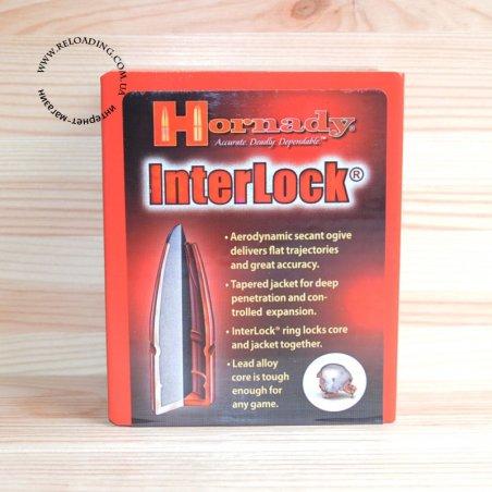 Пуля Hornady InterLock SP калибр 9.3 мм / .366 (18.53 г)