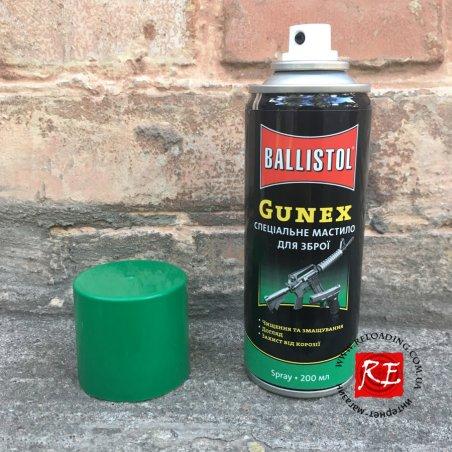 Масло Gunex для чистки оружия (200 мл)
