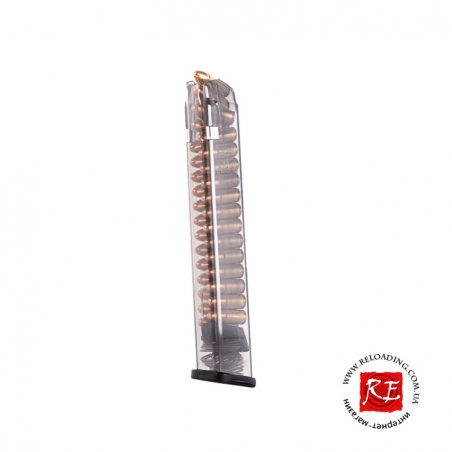 Магазин ETS для Glock 9 мм (на 22 патрона 9x19)