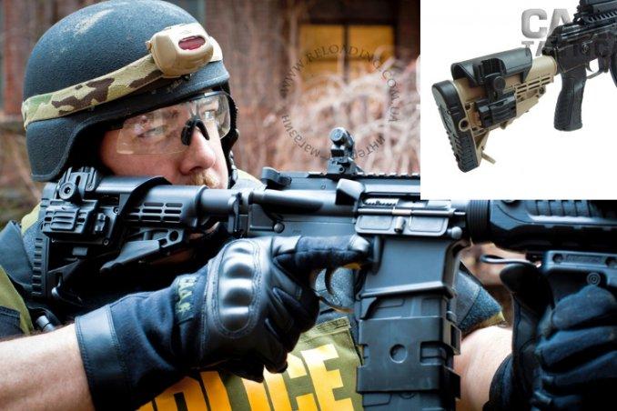 Регулируемая щека на приклад CAA Tactical