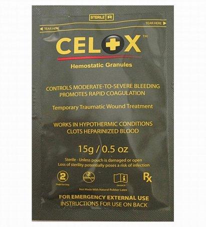 Кровоостанавливающее средство Celox (15 грамм)