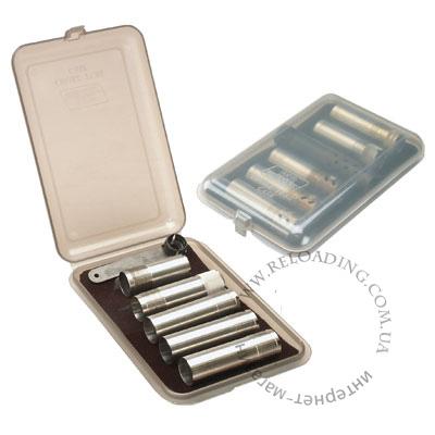 Коробка пластиковая МТМ для 6 дульных насадок (чоков)