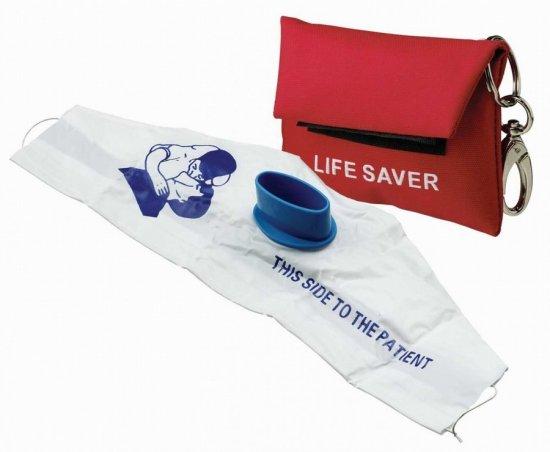 Маска для искусственного дыхания CPR Mask