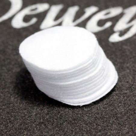 Патчи Dewey круглые для чистки оружия (1000 штук, калибр .22 - .223)