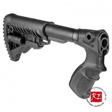 Приклад телескопический FAB Defense М4 на Remington 870