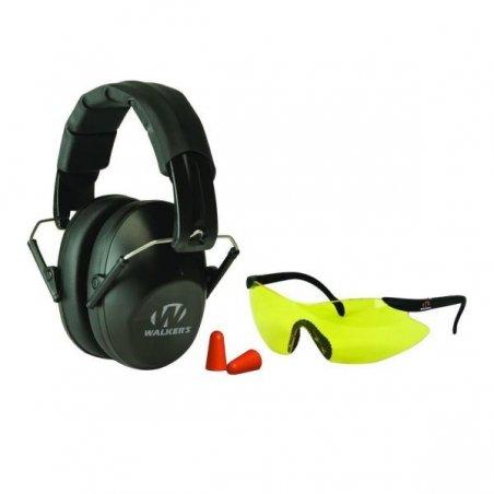 Наушники и защитные очки Walker Pro Muff Combo