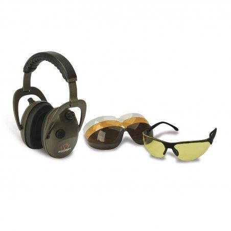 Наушники активные Walkers Alpha Muff и стрелковые очки