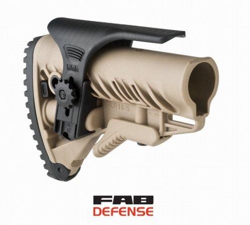 Регулируемый подщечник GCP для приклада FAB Defense GLR-16