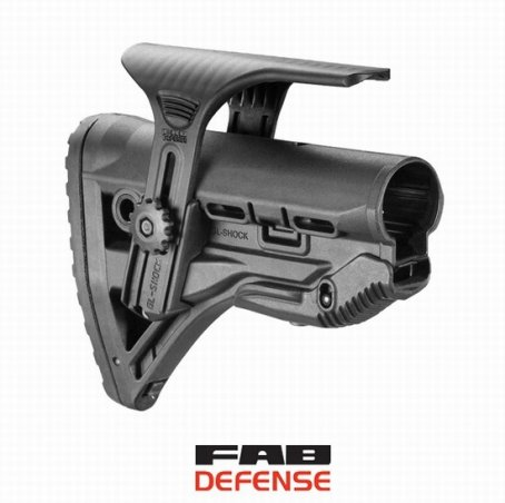 Приклад FAB Defense CL-SHOCK с компенсатором отдачи