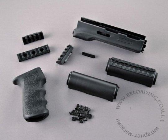 Пистолетная рукоятка и цевье Hogue для АК
