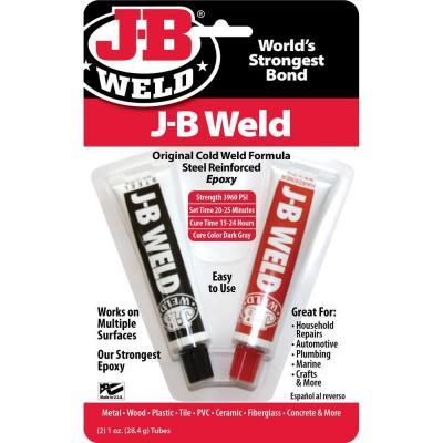 Клей двухкомпонентный J-B Weld для беддинга