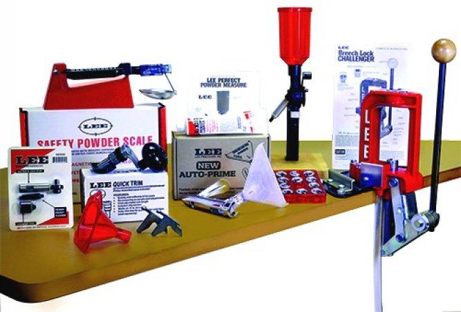Набор для релоадинга LEE Breech Lock Challenger Kit