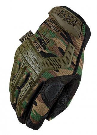 Перчатки Mechanix M-Pact Woodland Camo Glove