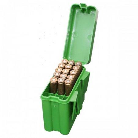 Коробка MTM для 20 патронов (калибр .223 Rem) с креплением на пояс