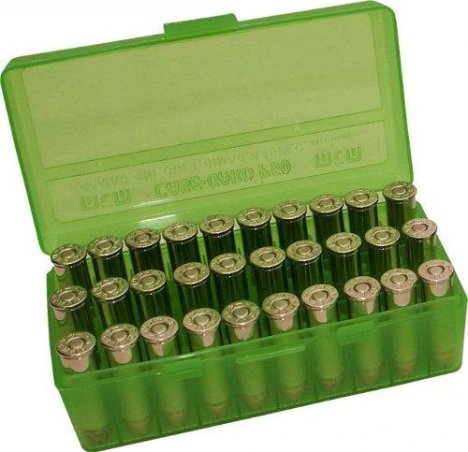 Коробка MTM для патронов калибра .45 ACP