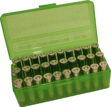Коробка MTM для патронов калибра .38 / .357 / 7,62x25