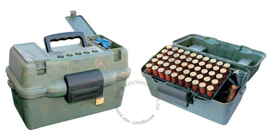 Ящик на 100 патронов 12 или 20 калибра MTM Deluxe Shotshell Case