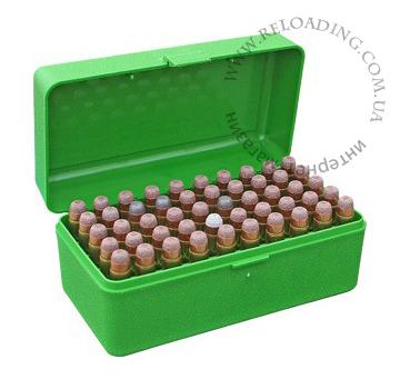 Коробка MTM для патронв 9.3x62 / 7.62x54