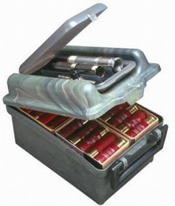 Ящик MTM SW-100 на 100 патронов 12 калибра и сменных чоков