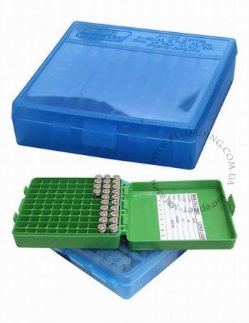 Коробка МТМ для патронов калибра 45 ACP (на 100 патронов)