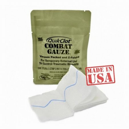 Бинт Quikclot Combat Gauze Z- Folded
