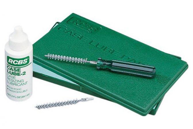 Набор RCBS Case Lube Kit для чистки и смазки гильз
