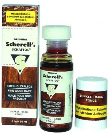 Средство Scherell Schaftol темно-коричневое по уходу за ружейной ложей
