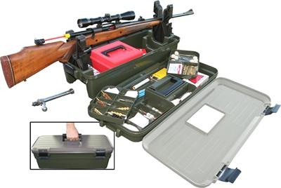 Кейс для чистки оружия МТМ Shooting Range Box (зеленый)