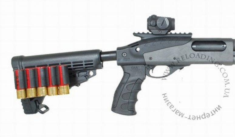 Держатель на 5 патронов 12 калибра с креплением на планку Пикатинни CAA Tactical