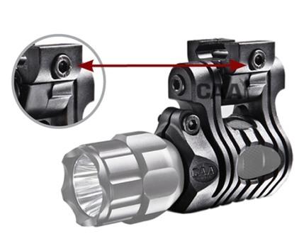 Поворотное крепление для тактического фонаря или ЛЦУ CAA Tactical (диаметр 24.4 - 27 мм)