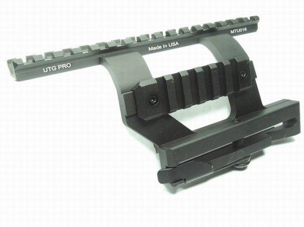 Быстросъемный боковой кронштейн на АК UTG PRO (MTU016)