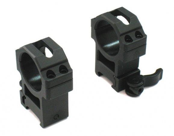 Кольца UTG быстросъемные (средние, диаметр 30 мм)